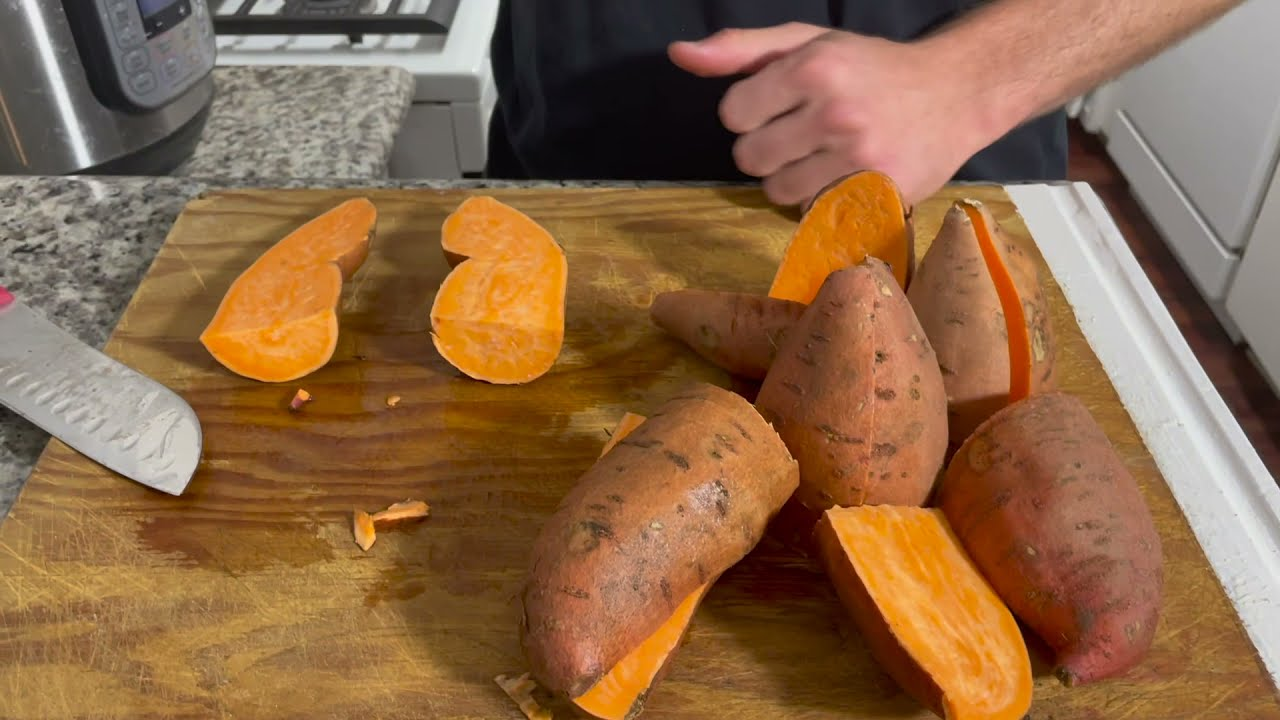 Easiest way to Meal Prep Mashed Sweet Potato