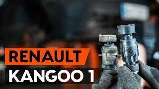 Как се сменят Свързваща щанга на RENAULT KANGOO (KC0/1_) - онлайн безплатно видео