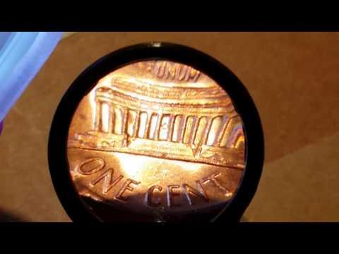 1970 error penny A08