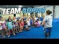 Coach Life: Gymnastics Team Sleepover  Rachel Marie