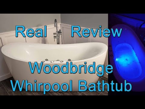 Woodbridge B-0034 / BTS1611 Freestanding Whirlpool Air Tub Review