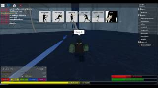 roblox Avatar: The Last Airbender Showing how OverRated Chi Blocking is.