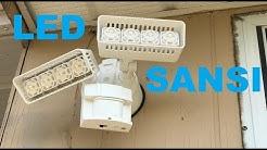 SANSI LED Security Motion Sensor Light 30W (CRAZY BRIGHT!!!!) LOVE IT!!!