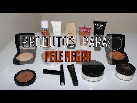 Produtos p/ preparar a pele Negra -por Camila Delamar