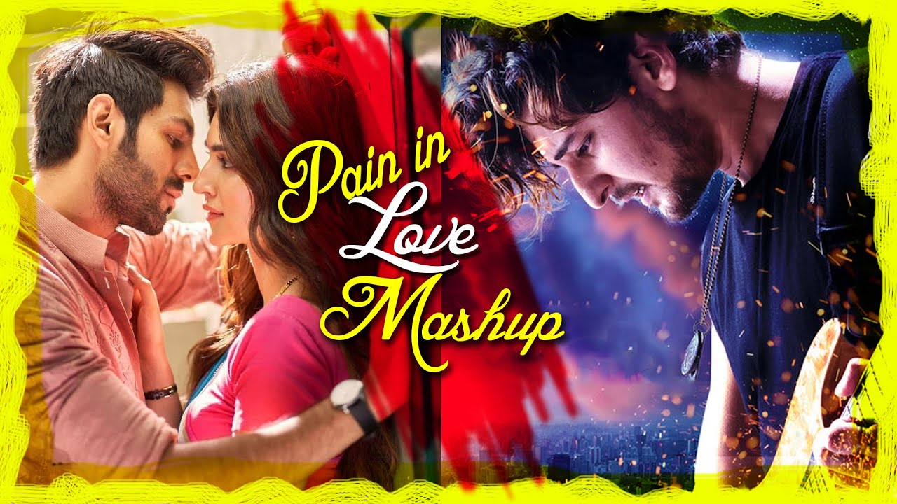 Pain in Love Mashup | Dj Bibhu | New Bollywood Romantic Song | Sajjad Khan Visuals