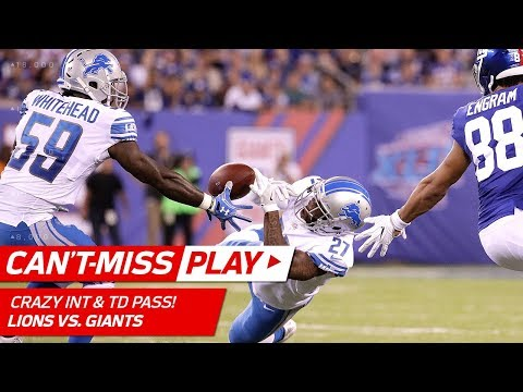 Wild INT by Tahir Whitehead Sets Up Stafford