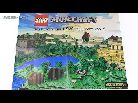 LEGO Club magazine: Free Minecraft poster Nov/Dec