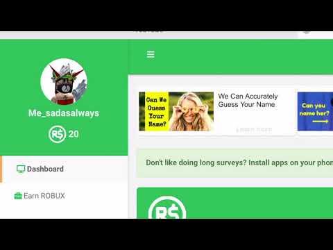 Irobux.com Earn Robux Robux უფასოდ აგება Irobux Youtube