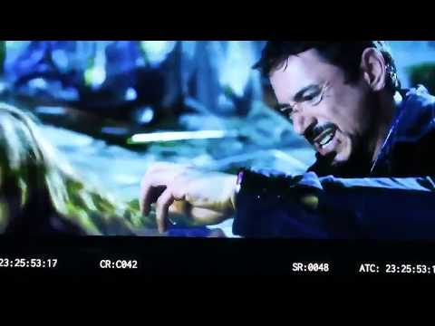 Iron Man 3 Deleted scene | Tony Stark removing arc reactor from chest to help boy | marvel