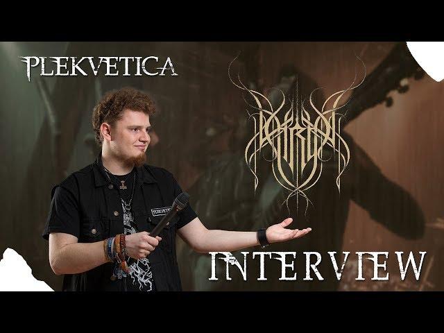 [ Interview ] Thron ( 2018 ) | Blackened Death Metal