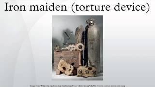 Iron maiden (torture device)