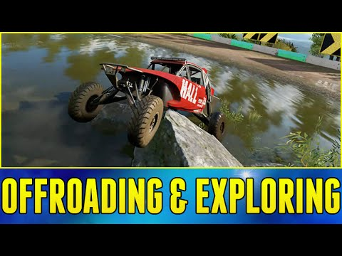 Forza Horizon 3 Gameplay : EXPLORING AND OFFROADING!!! (Q&A w/ Developers Part 3)