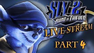 Let's Bounce! - Sly 2 Band Of Thieves LIVE STREAM Part 4