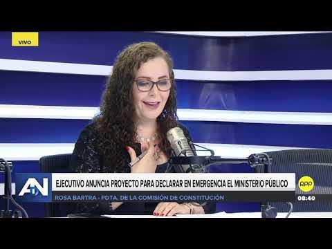 Rosa Bartra 'Volvería a votar en rojo los proyectos del ejecutivo'