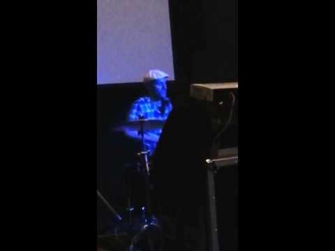 Matt Giordano drumming at 2013 AMTA Conference
