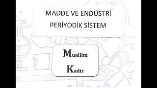 8. Sınıf Fen Bilimleri Madde ve Endüstri 3 (Periyodik Sistem ve Elementlerin Sınıflandırılması)