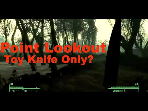 Can You Beat Fallout 3's Point Lookout DLC With Only a Toy Knife? |