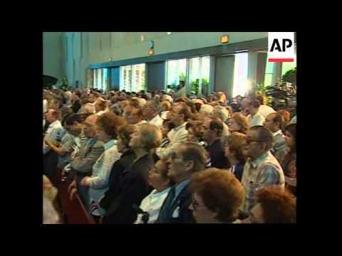 USA: MIAMI: FUNERAL OF CUBAN EXILE JORGE MAS CANOSA