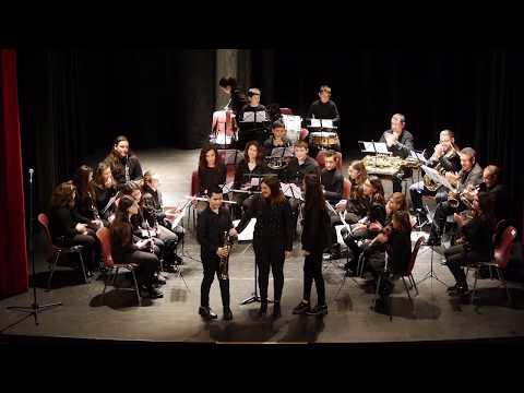 Aires de Triana. Banda Infantil. Escuela Municipal de Música de Llerena