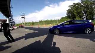 12 Second Focus ST vs Big Turbo Supra Drag Race
