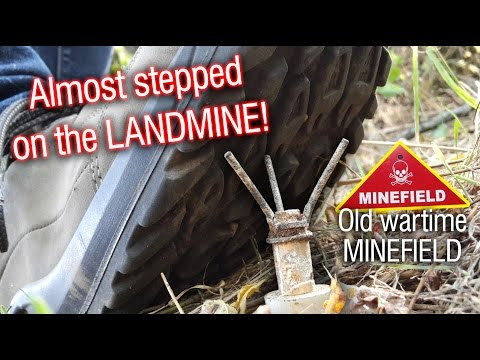 Warning Minefield! Almost stepped on a landmine on the last hunt!