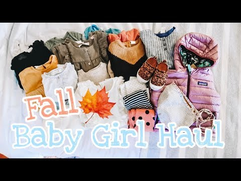 ULTIMATE FALL BABY GIRL CLOTHING HAUL [2019] ZARA H&M NORDSTROM TARGET