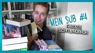 Mein SuB #4 | Fantasy, Sci-Fi & Horror