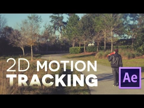 After Effects Basic Tutorial - MOTION TRACKING