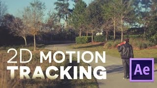 After Effects Basic Tutorial Motion Tracking