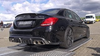 BEST of BRABUS - 850 6.0 Biturbo, G63 6x6, CLS850, S63, E63, G800 REVS & SOUND!