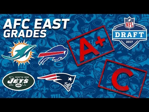 Patriots, Jets, Bills, & Dolphins | AFC East 2017 NFL Draft Grades | NFL NOW