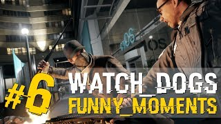 Watch Dogs Funny Moments - Car Flips, SSSHIT!, Surfing & Surprise Motherfucker!