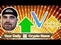 Markets Up, Vechain Whitepaper Update, Banks Trading Crypto, Binance, & Russia