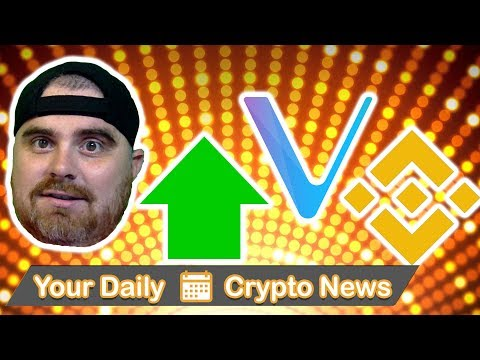 Markets Up, Vechain Whitepaper Update, Banks Trading Crypto, Binance, & Russia