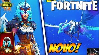 * NEWS * Season 5 leaks Skin Valkyrie (Walla) in 3D and DRAGON! -Fortnite, the