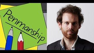 Penmanship Episode 29: Erik Jensen (July 2016)