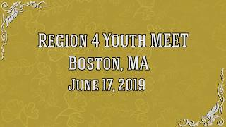 Download Region 4 Youth Meet, Boston, USA - June 17, 2019 Mp3 and Videos