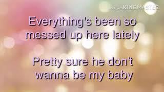 I'm a Mess by Bebe Rexha (lyrics)
