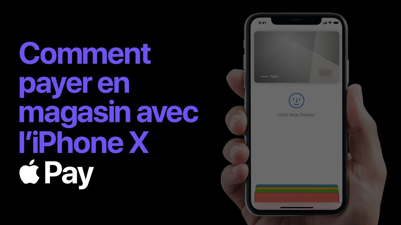 apple pay comment payer avec face id sur iphone x apple youtube