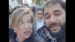KATIE HOPKINS CONFRONTS MUSLIM - GETS OWNED!!