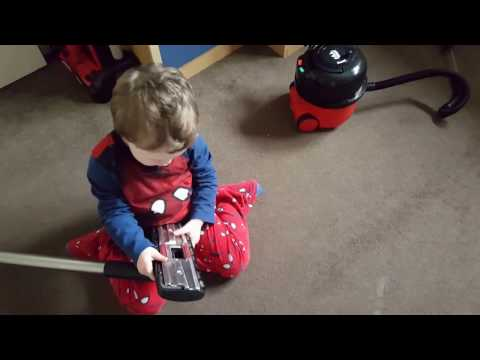 Seth And His Henry Hoover