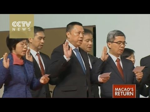 Macao's 4th-term government sworn in