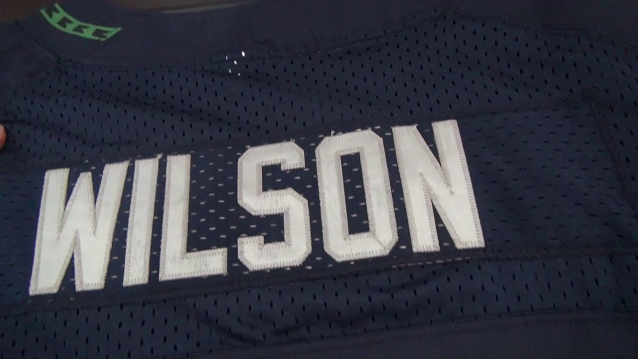 Seattle Seahawks  3 Wilson Blue jerseys review  caroljerseyshop.ru ... 5fd9d72cb