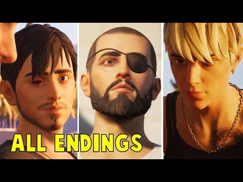 Life Is Strange 2 Episode 5 ALL ENDINGS (LIS2 Wolves)