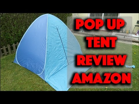 Pop Up Canopy Portable Beach Tent - Perfect For Families - Amazon Review  sc 1 st  YouTube & Pop Up Canopy Portable Beach Tent - Perfect For Families - Amazon ...