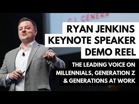 Ryan Jenkins - Millennial & Generation Z Keynote Speaker - 2018 Demo Reel