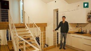 Интерьерные решения в доме из кирпича