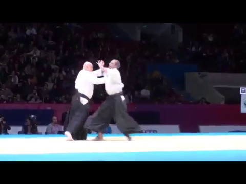 Strong and powerful Aikido techniques.
