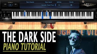 The Dark Side PIANO TUTORIAL [Alternate Reality Version] - Muse (How To Play)