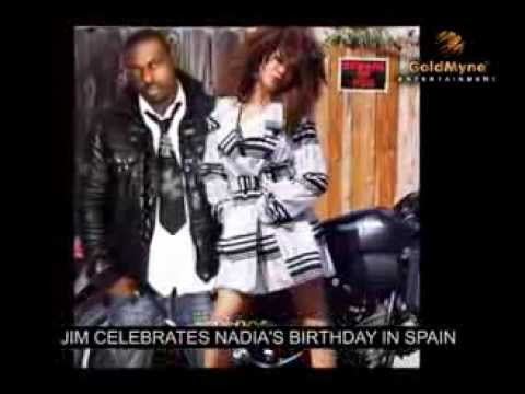 JIM IKE Celebrates Nadia Birthday In Spain